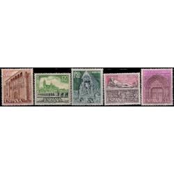 (1875 a 1879) 1968. Serie Completa. Turística (Nuevo, con marca de fijasellos)