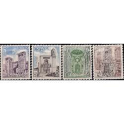 (2527 a 2530) 1979. Serie Completa. Paisajes y Monumentos (Nuevo)