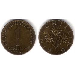 (2886) Austria. 1966. 1 Schilling (MBC)