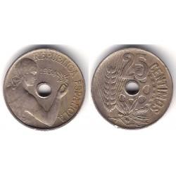 España (II República). 1934. 25 Céntimos (MBC-)