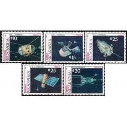 Nicaragua. 1987. Serie Día de la Cosmonautica (Usado)