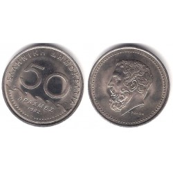 (134) Grecia. 1982. 50 Drachma (EBC)