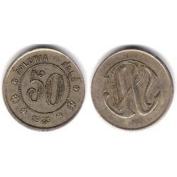 Colonia Palá. 1923. 50 Céntimos (MBC)