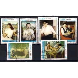 Cuba. 1977. Serie Pintores Cubanos (Usado)