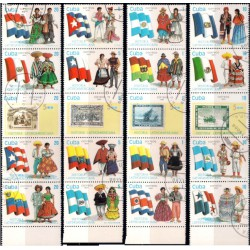 Cuba. 1990. Serie Historia Latinoamericana (Usado)
