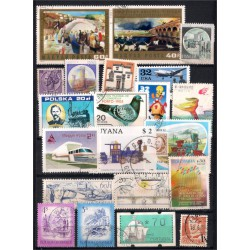 Lote de sellos de varios paises (Usado)