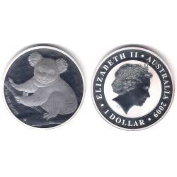 Australia. 2009. 1 Dollar (Proof) (Plata)