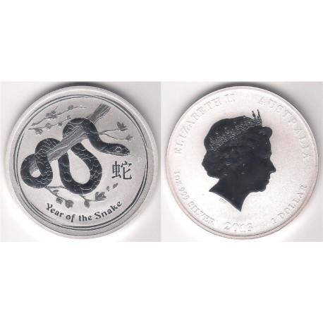 Australia.n 2016. 1 Dollar (Proof) (Plata)