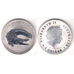 Australia. 2014. 1 Dollar (Proof) (Plata)