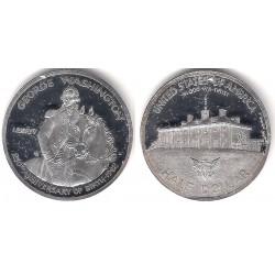 (RÉPLICA) Estados Unidos de América. 1982. 1 Dollar (Proof) (Plata)