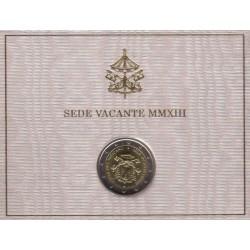 Ciudad del Vaticano. 2013. 2 Euro (SC) Sede Vacante