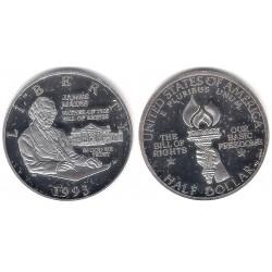 (RÉPLICA) Estados Unidos de América. 1993. Half Dollar (Proof) (Plata)