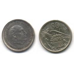 Estado Español. 1957*(BA). 50 Pesetas (EBC)