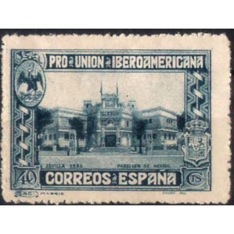 (576) 1930. 40 Céntimos. Pro Unión Iberoamericana (Usado)