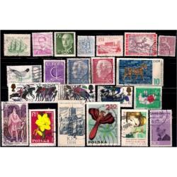 Lote de sellos de varios paises (22 uds)