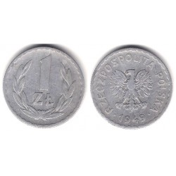 (Y45) Polonia. 1949. 5 Zlotych (BC)