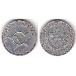 (34) Cuba. 1968. 5 Centavos (BC)