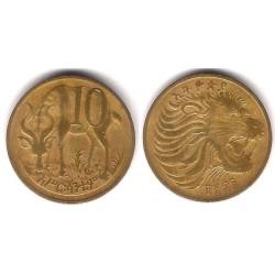(45) Etiopía. 1969. 10 Cents (RC)