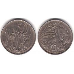 (47) Etiopía. 1969. 50 Cents (MBC-)