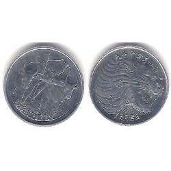 (43.1) Etiopía. 1977. 1 Cent (SC)