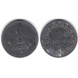 Cooperativa La Victoria. 1 Peseta (BC)