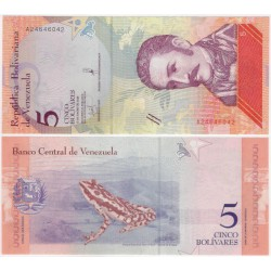 (102) Venezuela. 2018. 5 Bolivares (SC)