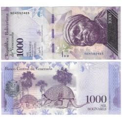 (95b) Venezuela. 2017. 1000 Bolivares (SC)