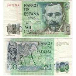España. 1979. 1000 Pesetas (MBC) Serie E