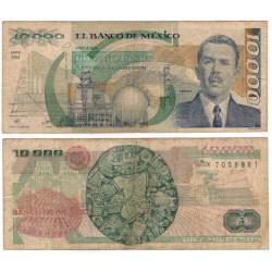 (90b) Estados Unidos Mexicanos. 1988. 10000 Pesos (BC)