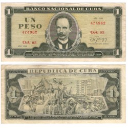 (102d) Cuba. 1986. 1 Peso (MBC)