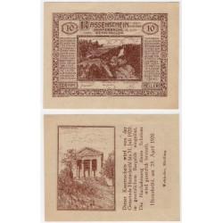 Hinterbrühl (Baja Austria). 1920. 10 Heller (EBC+)
