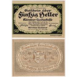 Kärnten. 1920. 50 Heller (EBC+)