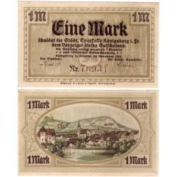 Königsberg (Baviera). 1918. 1 Mark (EBC)