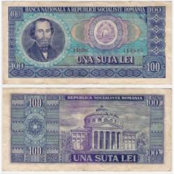 (97a) Rumania. 1966. 100 Lei (MBC)
