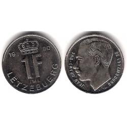 (63) Luxemburgo. 1990. 1 Franc (EBC+)