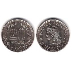 (55) Argentina. 1959. 20 Centavos (SC)