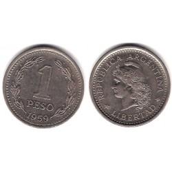 (57) Argentina. 1959. 1 Peso (MBC)