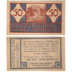 Sonnberg. 1920. 50 Heller (EBC+)