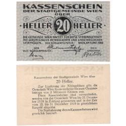 Wien. 1919. 20 Heller (EBC)