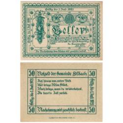 Edlbach (Alta Austria). 1921. 50 Heller (EBC+)