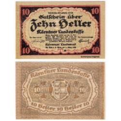 Kärnten. 1920. 10 Heller (EBC+)