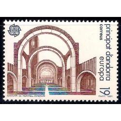 (178) Andorra. 1987. 19 Pesetas. Santuari de Meritxell (Nuevo)