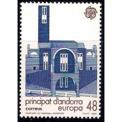(179) Andorra. 1987. 48 Pesetas. Santiario de Meritxell (Nuevo)