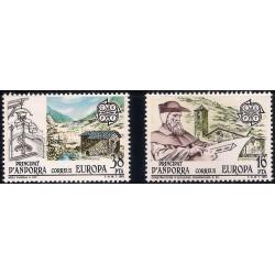 (153-154) Andorra. 1983. Serie EUROPA (Nuevo)