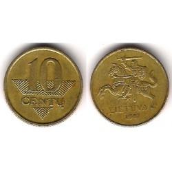 (107) Lituania. 2007. 10 Centu (BC+)