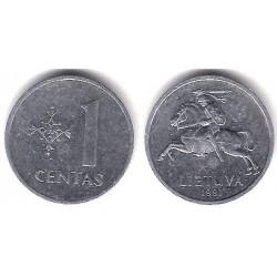 (85) Lituania. 1991. 1 Centas (MBC)