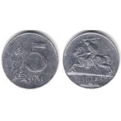 (87) Lituania. 1991. 5 Centai (BC)