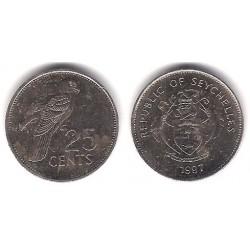 (49a) Seychelles. 1997. 25 Cents (MBC)