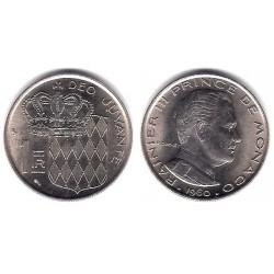 (140) Mónaco. 1960. 1 Franc (SC)