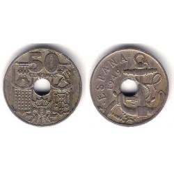 Estado Español. 1949*(19-53). 50 Céntimos (BC)
